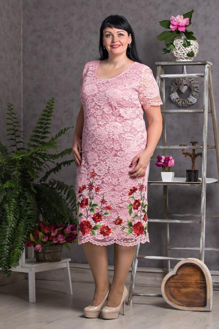 5b3ce368591 Купить женские нарядные платья больших размеров
