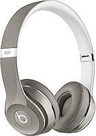 Наушники Beats by Dr. Dre Solo2 On-Ear (MLA42ZM/A) Luxe Silver