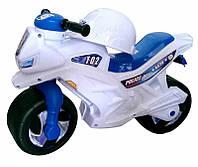 Мотоцикл с каской 501 белый Орион