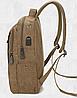 Мужской рюкзак из холста, фото 7