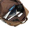 Мужской рюкзак из холста, фото 10