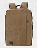 Мужской рюкзак из холста, фото 6