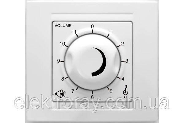 Аудиовыключатель Gunsan Moderna белый