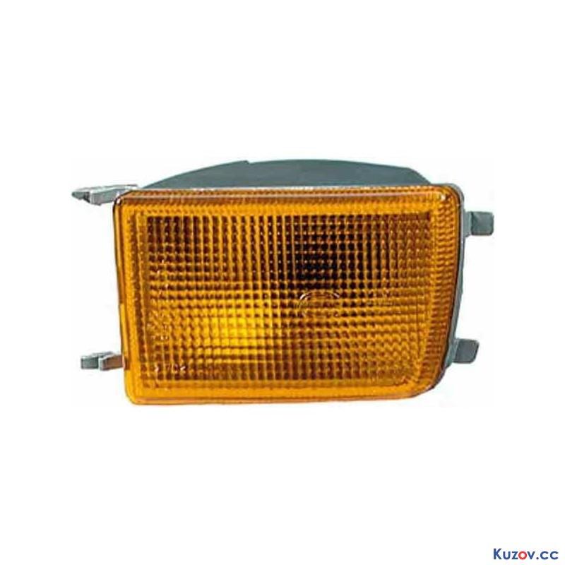 Указатель поворота в бампере VW Vento 92-99 правый, желтый (Depo)
