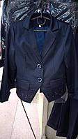 Школьный пиджак для девочки, размеры: 122, 128, 134, 140, 146 см.