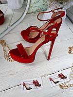 ХИТ СЕЗОНА!! Красные женские босоножки