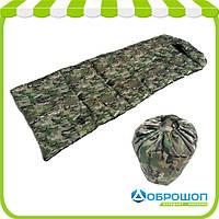 Спальный мешок - одеяло с компрессионным чехлом «Camping Zima»