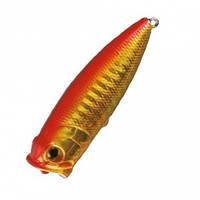 Воблер Nomura Small Popper 55мм 7гр. цвет-110 (RED GOLD)