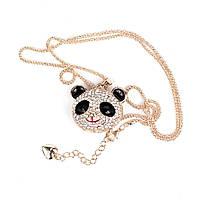Ожерелье Betsey Johnson Shiny Panda копия