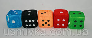 Плюшевые кубики 8х8 см
