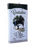 Оливкове масло першого холодного віджиму Olio Extra-Vergine di oliva Contadina 5 л