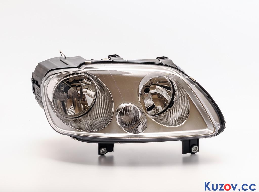 Фара VW Caddy 04-10 левая (Depo) электрич., H1+H7 2K0941005B
