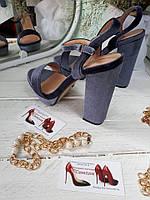 ХИТ СЕЗОНА!! Модные босоножки на толстом каблуке