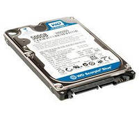 "Винчестер 2.5"" 500Gb Western Digital Blue, SATA3, 8Mb, 5400 rpm (WD5000LPVX) (Ref)"