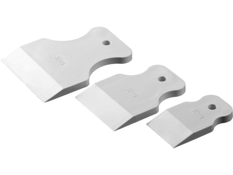Набор шпателей для затирки швов (40,60,80 мм) KLVIV MIX FUGA
