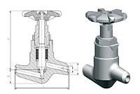 Клапан 584-10-0 Ду10 Ру250
