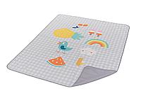 Развивающий коврик для прогулок - ИДЕМ ГУЛЯТЬ (140х115 см, водонепроницаемый)