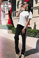 Костюм -брюки и футболка 0563 Аф