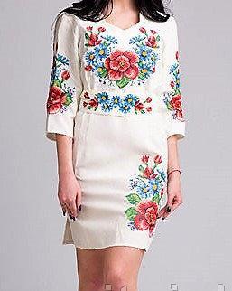 Эксклюзивное платье в этническом стиле