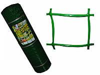 Сетка садовая 1*20м, яч. 50*50мм, хаки, зеленый