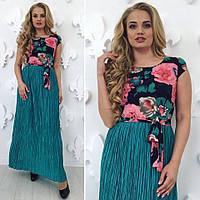 Нарядное платье макси,большие размеры
