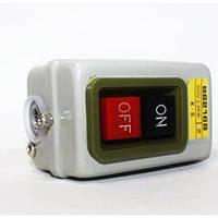 Кнопка наружная в корпусе метал пуск-стоп на ПНВ 3.7 кВт для бетономешалок