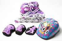 Комплект роликов Супер Павер фиолетовый