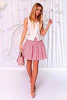 Костюм жилетка и юбка