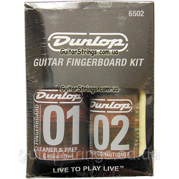 Набор для очистки накладки грифа Dunlop 6502 Fingerboard Care Kit