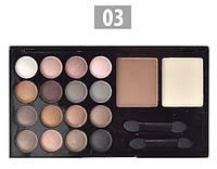 Набор для макияжа № 3 тени + пудры корректирующие