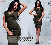 Платье ПЭ №6855 в расцветках