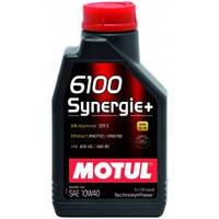 Масло моторное MOTUL 6100 Synergie+ 10W40 1L 839411 102781