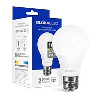 Лампа светодиодная GLOBAL (1-GBL-163-02) A60 10W 3000K 220V E27 AL