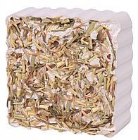 Минеральный камень Trixie Gnawing Stone для грызунов с луговыми травами, 80 г