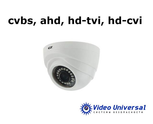 Мультиформатные камеры видеонаблюдения