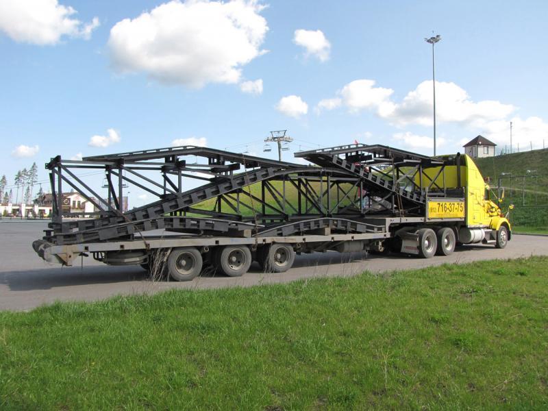 Перевезення металоконструкцій у Луцьку та області