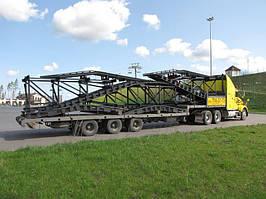 Перевезення металоконструкцій в Дніпрі та області