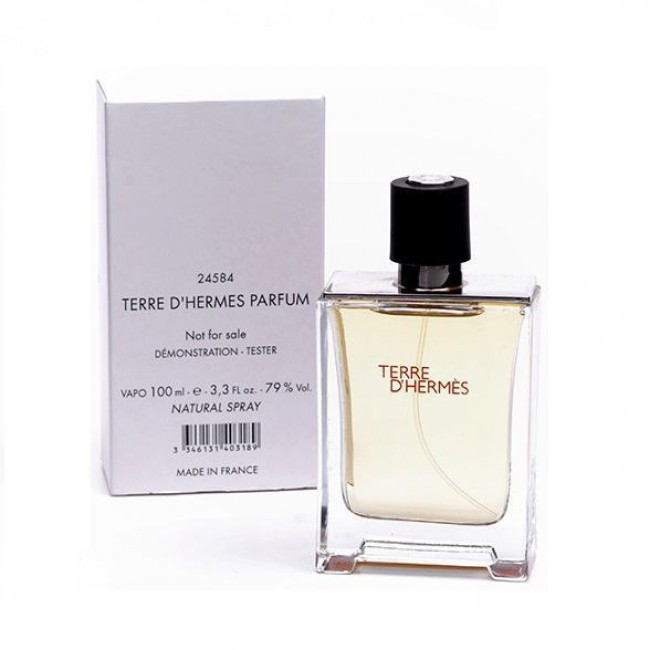 тестер мужской парфюм Terre Dhermes Parfum Hermes 100 мл