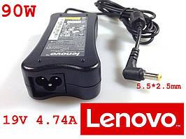Зарядное устройство для ноутбука для ноутбука LENOVO 5.5*2.5mm 19V 90W