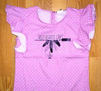 Футболка-блуза для девочек ТМ Glo-Story GCS-8550 сиреневый