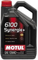 Масло моторное MOTUL 6100 Synergie+ 10W40 5L 839451 101493