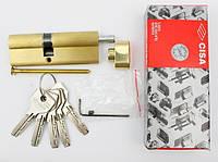 Cisa Asix 70мм 30х40 ключ/тумблер латунь (Италия)