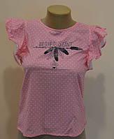 Футболка-блуза для девочек ТМ Glo-Story GCS-8550 розовый