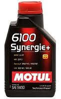 Масло моторное Motul 6100 SYNERGIE+ SAE 5W30 1L