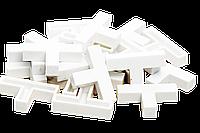 Крестики т-образные для декоративного камня 8 мм. KLVIV/KL02T08 уп. 20 шт., фото 1