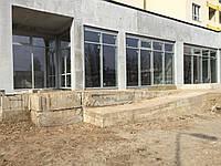 Стоечно-ригельная фасадная система