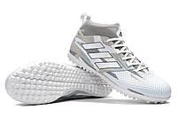Футбольные сороконожки adidas ACE 17.3 TF White/Core Black, фото 1