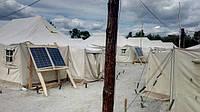 Военные на передовой уже получили и установили солнечные батареи.
