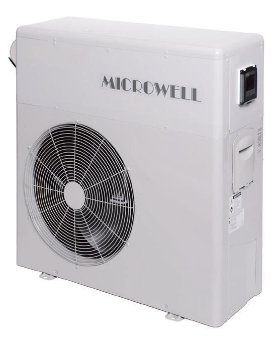 Тепловий насос MICROWELL HP1200 PREMIUM Compact