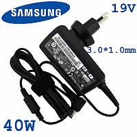 Зарядное устройство для ноутбука Samsung Ativ Book 7 19V 2.1A 40W 3.0*1.0mm
